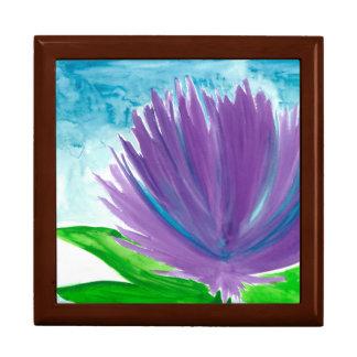 Purple Flower 1 Gift Box