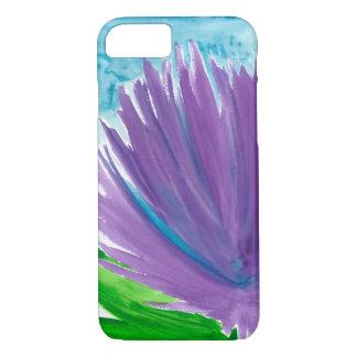 Purple Flower 1 iPhone 8/7 Case