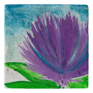 Purple Flower 1 Trivet