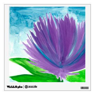 Purple Flower 1 Wall Sticker