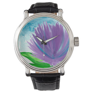 Purple Flower 1 Watch