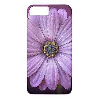 Purple flower blossom iPhone 7 plus case