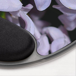 Purple Flower Blossoms Vines Destiny Destiny's Gel Mouse Pad