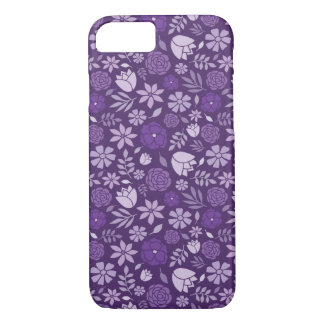 Purple Flower Case