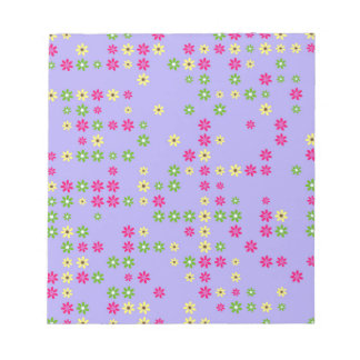 Purple Flower Confetti Notepads