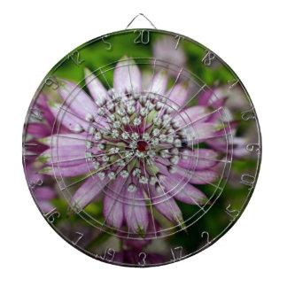 Purple Flower Dartboards
