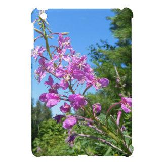 purple flower iPad mini cover