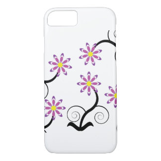 Purple Flower iPhone 7 Case