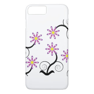 Purple Flower iPhone 7 Plus Case