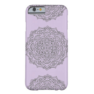 Purple Flower Mandala Case