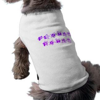 Purple Flower Power Pet Clothing
