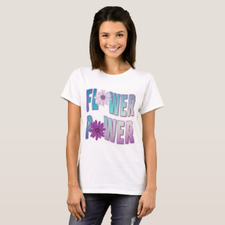 Purple Flower Power T-Shirt