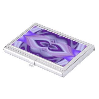 Purple Flower Rainbow Dreams Business Card Holder