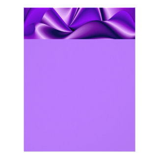 Purple Flower Rainbow Dreams Letterhead