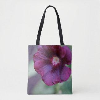 Purple Flower Tote