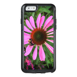 Purple Flower with Bee OtterBox iPhone 6/6s Case