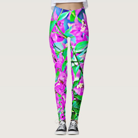 Purple Flower Women's Leggings
