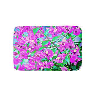 Purple Flowers Bath Mat