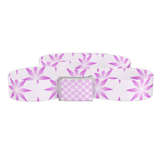 Purple flowers belt