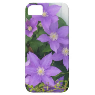 purple flowers case for the iPhone 5