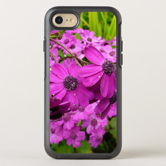 Purple Flowers from San Francisco OtterBox Symmetry iPhone 7 Case