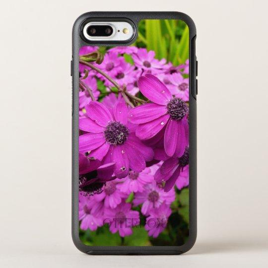 Purple Flowers from San Francisco OtterBox Symmetry iPhone 7 Plus Case