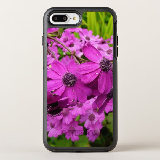 Purple Flowers from San Francisco OtterBox Symmetry iPhone 8 Plus/7 Plus Case