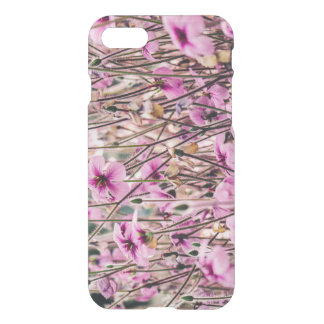 Purple Flowers Growing In A Field, Nature, Floral iPhone 7 Case