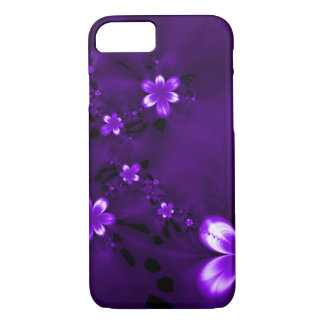 Purple Flowers iPhone 8/7 Case