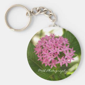 Purple Flowers Keychain