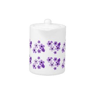 Purple Flowers Pattern