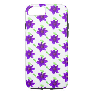 Purple Flowers - Patterned iPhone Case