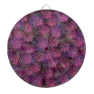 Purple Fluffy Texture Collection Dart Boards