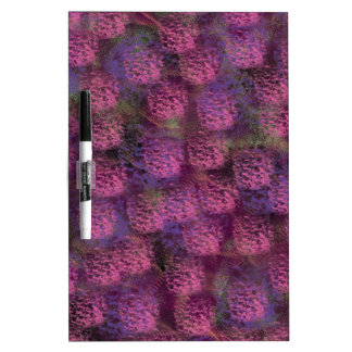 Purple Fluffy Texture Collection Dry-Erase Board