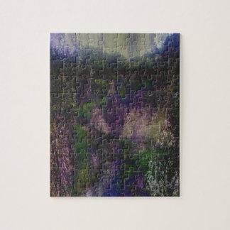Purple Forest Journey Puzzles