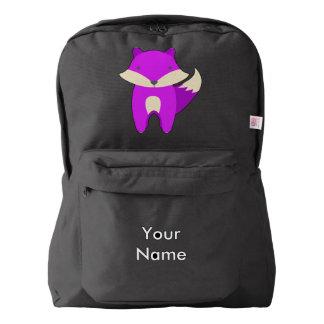 Purple Fox Backpack