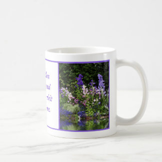 Purple Foxgloves Reflection Mug