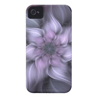 Purple Fractal Case-Mate iPhone 4 Case