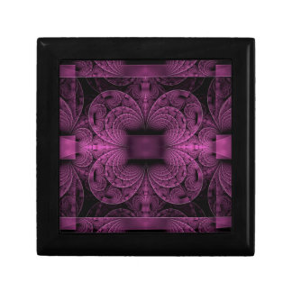Purple Fractal Gift Box