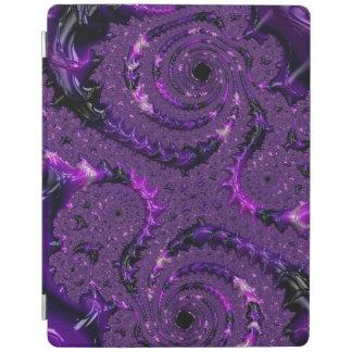 Purple Fractal iPad Cover