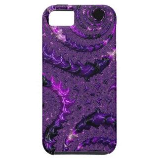 Purple Fractal iPhone 5 Case
