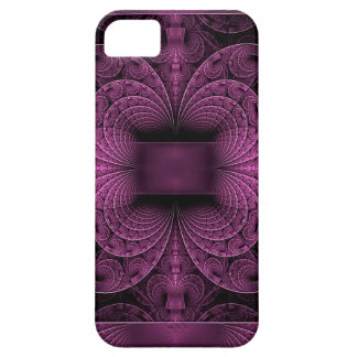 Purple Fractal iPhone 5 Cover