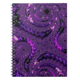 Purple Fractal Notebook