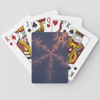 Purple Fractal Playing Cards