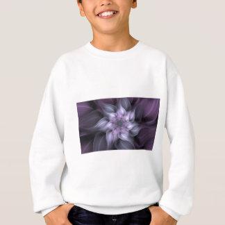 Purple Fractal Sweatshirt