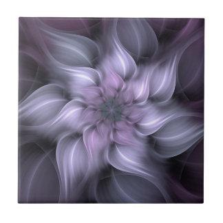 Purple Fractal Tile
