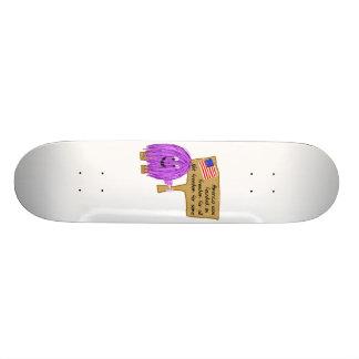 Purple Freedom Skate Board