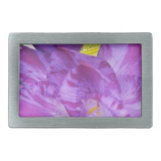 Purple Freesia Belt Buckles