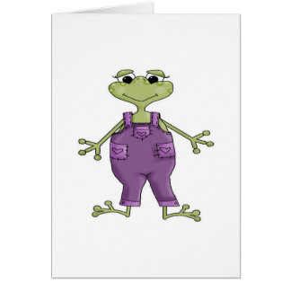 Purple Frog Card