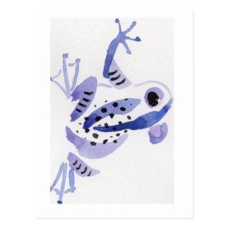 Purple Frog Postcard